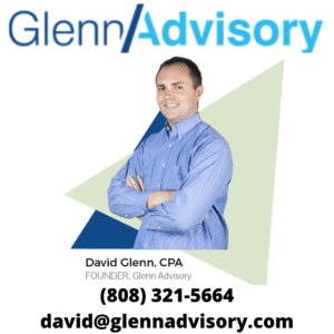 (808) 321-5664 david@glennadvisory.com