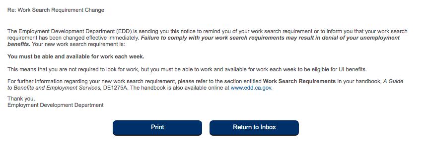 EDDwork search
