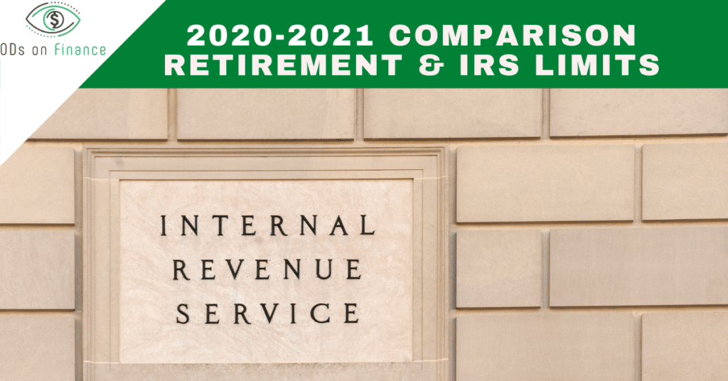 Comparison Retirement & IRS Limits