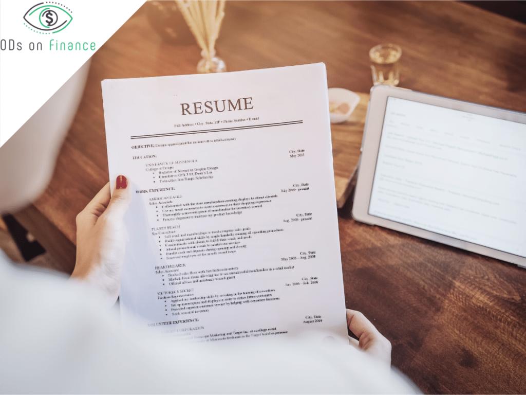 How to Create the perfect Optometry Resume