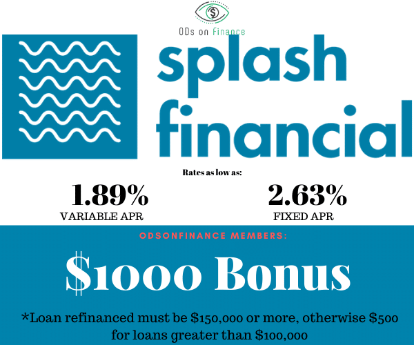Splash Financial Promo