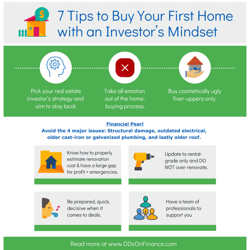 7 Tips to buy your first home