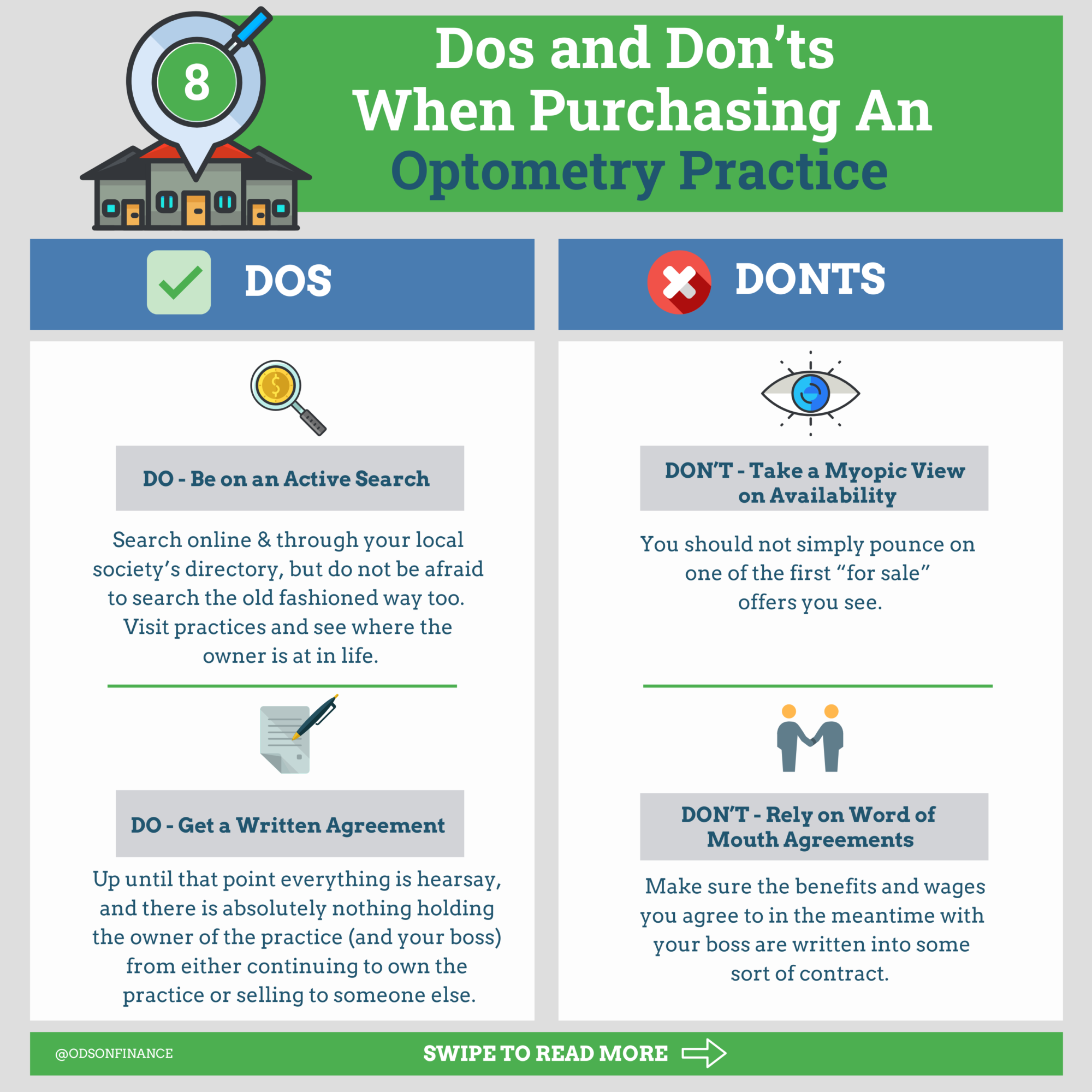 Dos and Don'ts  When Purchasing An