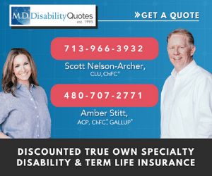 Scott Nelson-Archer, founder of M.D. Disability Quotes