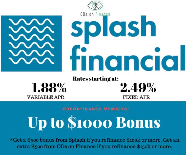 Splash Financial Promo