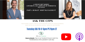Ask the CFPs. Part 1
